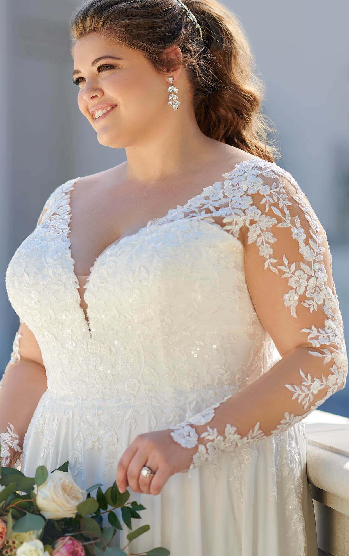 Plus Size Brautkleid Stella York